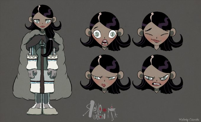 Melody Cisinski Character Concept Art Illustration 02