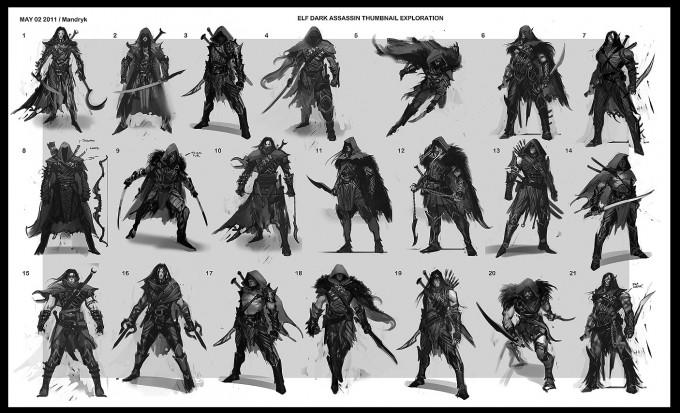 Middle_earth_Shadow_of_Mordor_Concept_Art_DM_04_Elf_Dark_Assassin