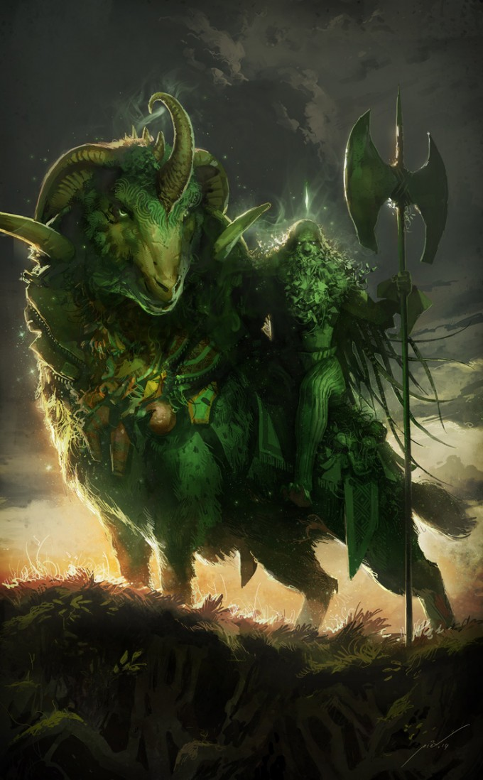 Pierre_Droal_Art_25-The-Green-Knight