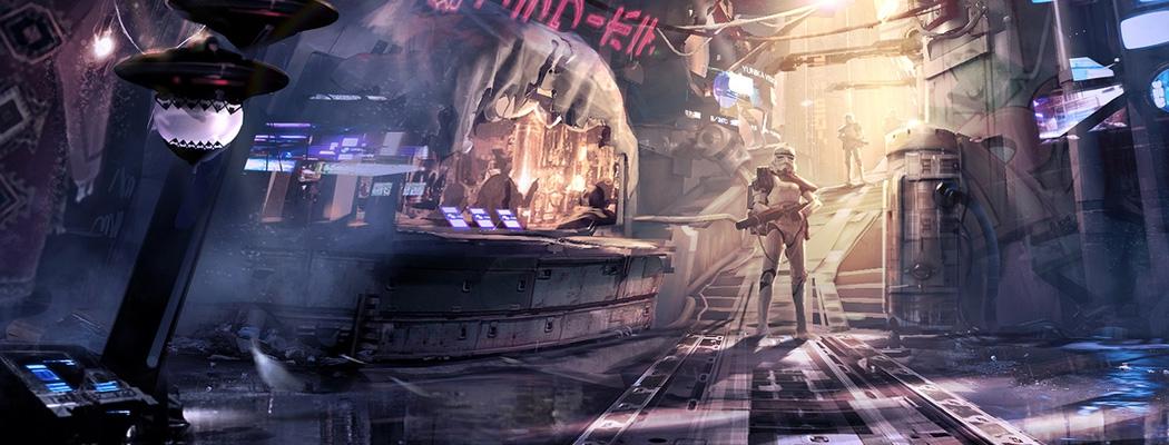 Star Wars Concept Art Book 02 Slum Storm Trooper 01m