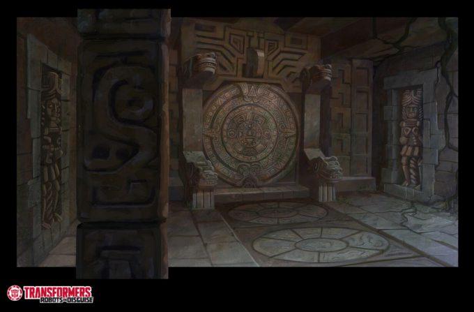 Transformers Hasbro BG season 1 ancient temple 2