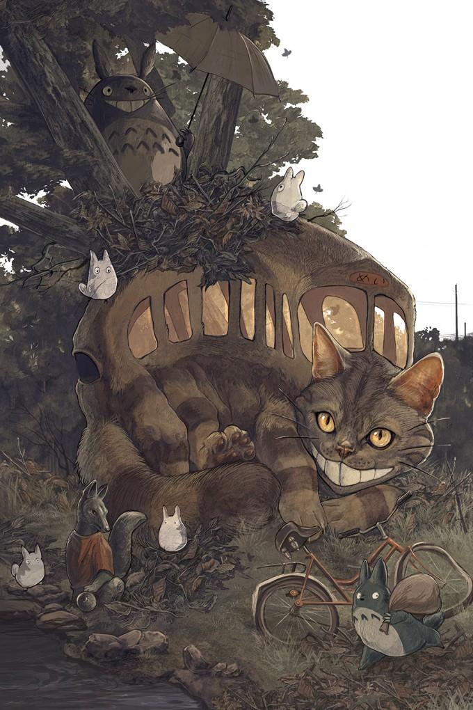 AJ_Frena_Art_Illustration_13_Totoro