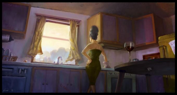Kan_Muftic_Concept_Art_Illustration_06_Waiting_For_Homer