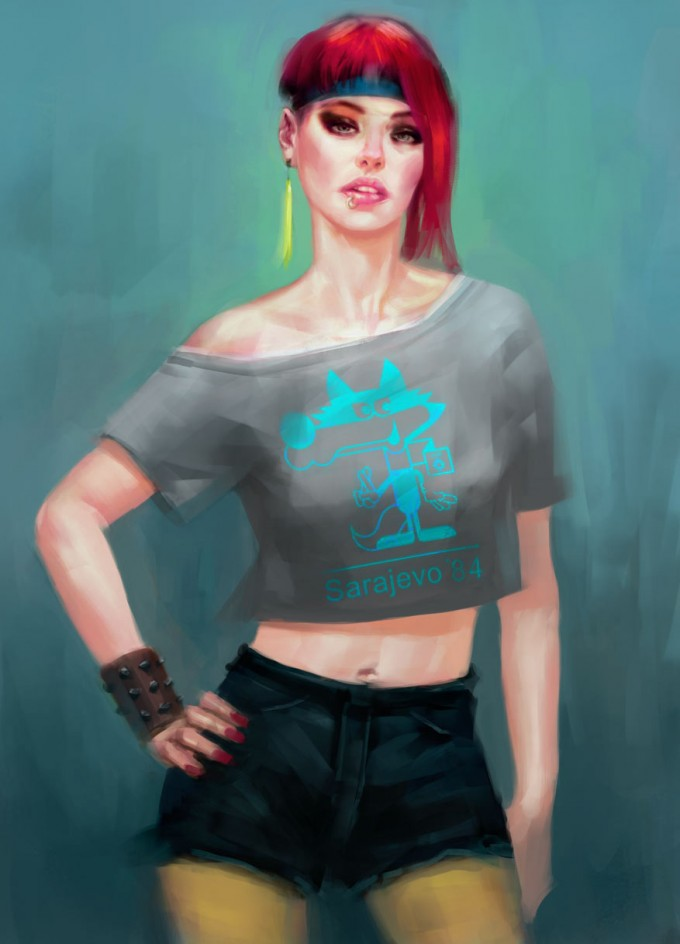 Kan_Muftic_Concept_Art_Illustration_10_Hipster_Chick