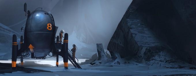 Space_Astronaut_Concept_Art_02_Patrick_Okeefe_snow_rockscrop