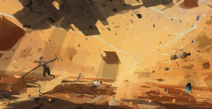 Space_Astronaut_Concept_Art_02_Pavel_Elagin_Space_Fields