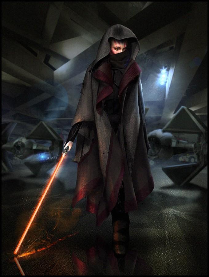 Star_Wars_Art_Illustration_01_Mark_Molnar_knight_speedpainting