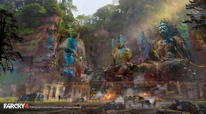 Far_Cry_4_Concept_Art_Donglu_Yu_01_statues