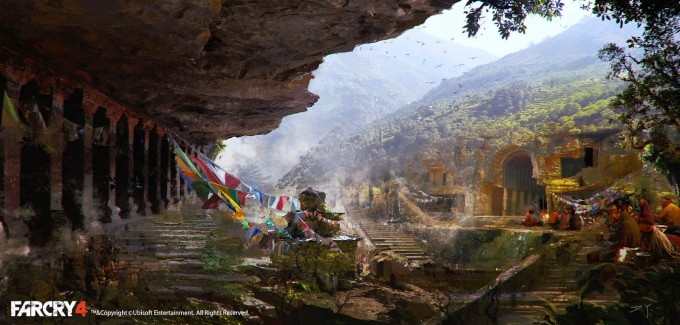 Far_Cry_4_Concept_Art_Donglu_Yu_10_temple_outside