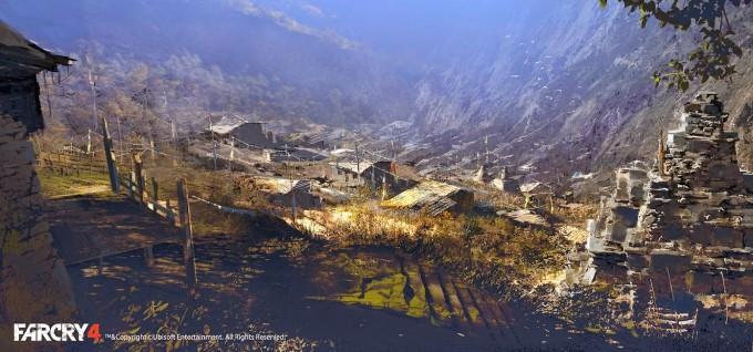 Far_Cry_4_Concept_Art_Donglu_Yu_12_village