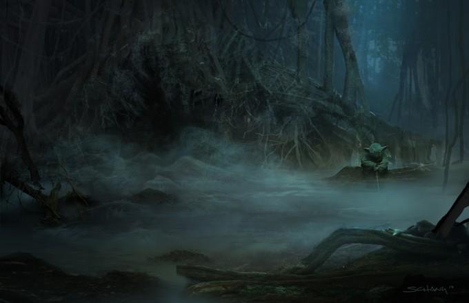 Star_Wars_Art_Illustration_01_Stephen_Chang_Yoda