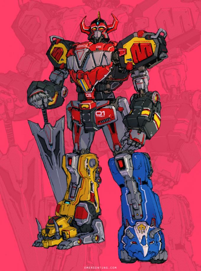 Emerson_Tung_Power_Rangers_Megazord_Fan_Art
