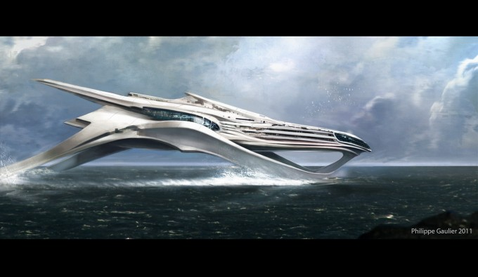 Philippe_Gaulier_Concept_Art_CloudAtlas_Hydrofoil-Boat
