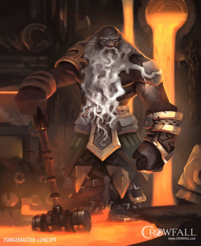 Crowfall_Concept_Art_Dave_Greco_Forge_Master