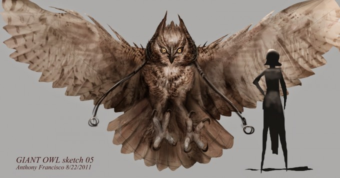 Seventh_Son_Concept_Art_Anthony_Francisco_02_Giant Owl_sketch05