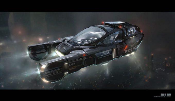Blade Runner 2049 Concept Art Kouji Tajima 01 Spinner