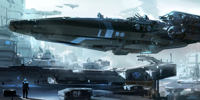 Structura_3_Sparth_Concept_Art_Book_blue-strike
