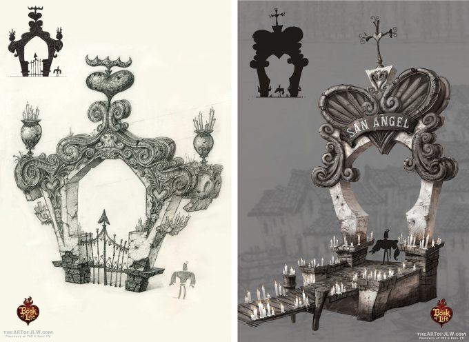 Book of Life concept art jordan lamarre wan 018 concept art