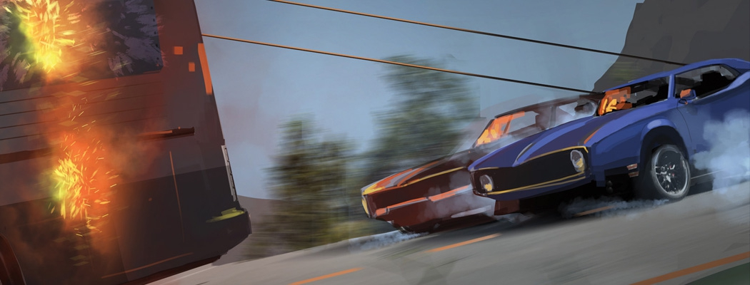 Fabian Lacey Fast and Furious Concept Art m01