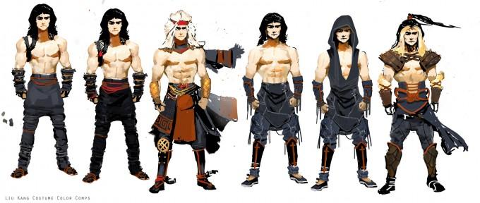 Mortal_Kombat_X_MKX_Concept_Art_MN_Liu_Kang_Color_Comps