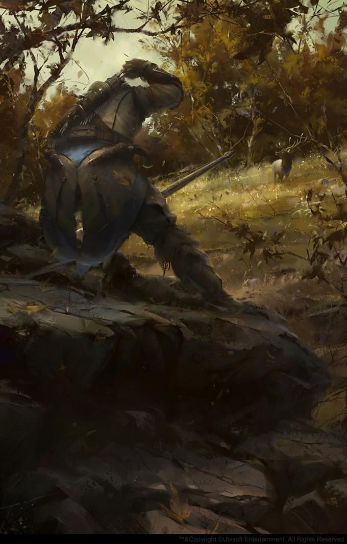William_Wu_Concept_Art_AC3-connor_hunting