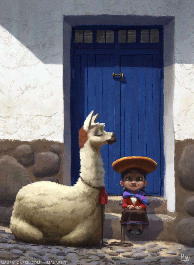 mauricio abril little peruvian girl mauricio abril