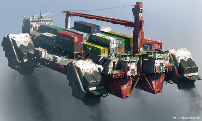 paul chadeisson concept art testspeed 0161 ship grain