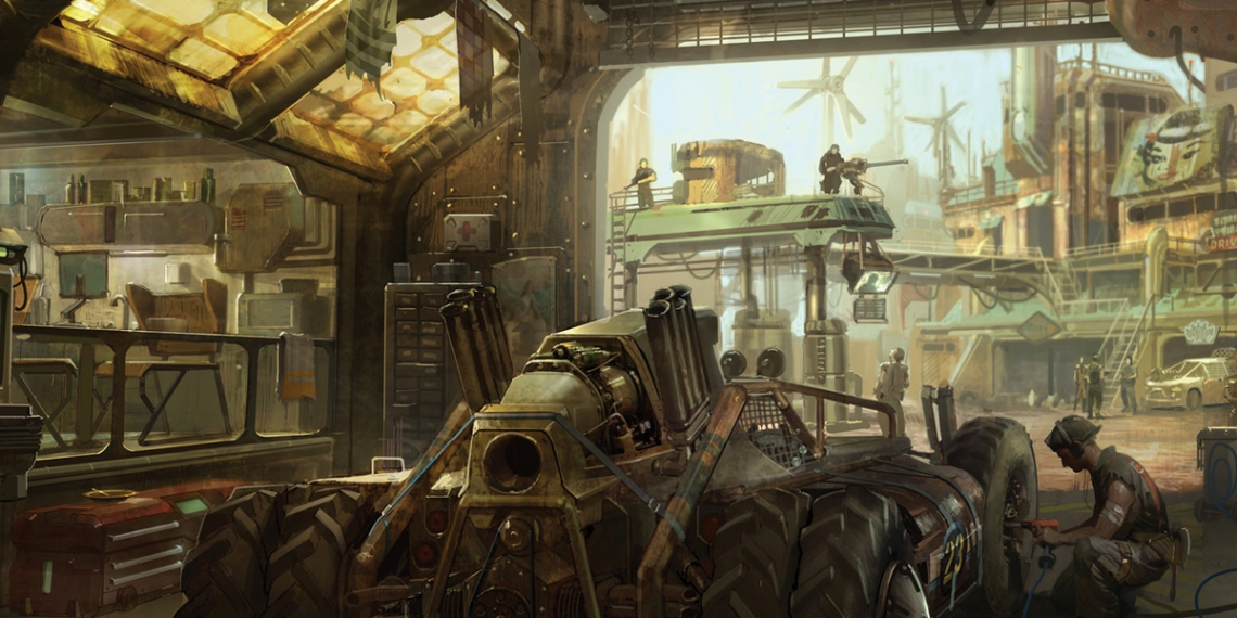 Big Bad World of Concept Art for Video Games M01