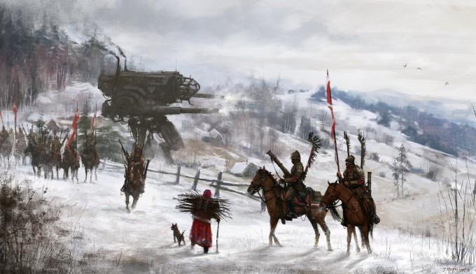 Jakub_Rozalski_Art_1920-hussars