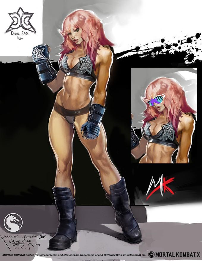 Mortal_Kombat_X_MKX_Concept_Art_JM_Cassie_Cage_Wrestler