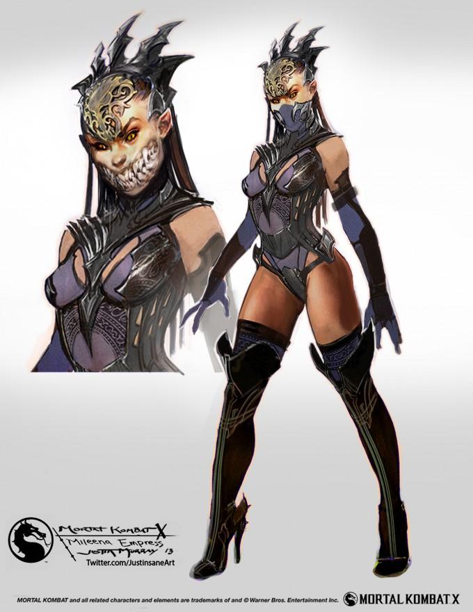 Mortal_Kombat_X_MKX_Concept_Art_JM_Mileena_Empress
