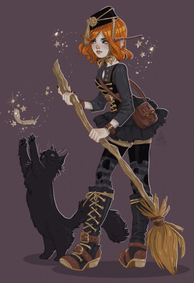 Sam_Schechter_Art_Illustration_Sugar_Sugar_Rune
