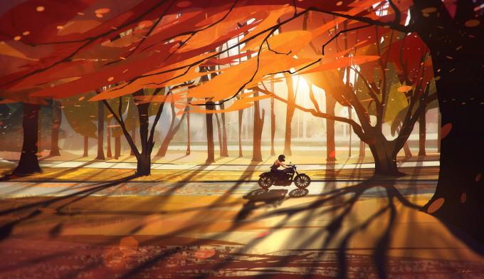 Bastien_Grivet_Concept_Art_Autumn-Countryside