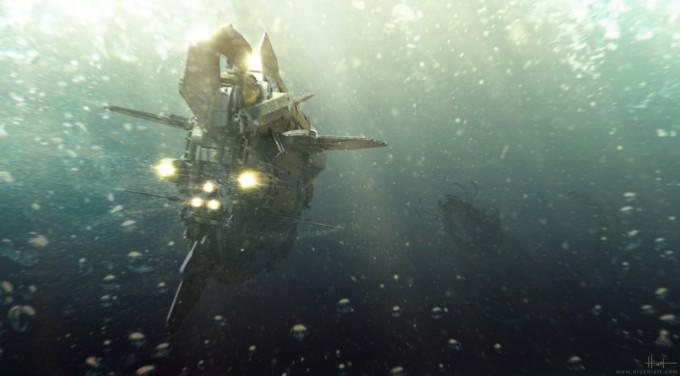 Nicholas_Hiatt_Concept_Painting_Nano_Submarine_01