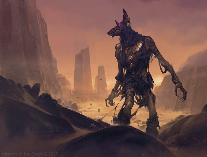 slawomir maniak tattered magic the gathering art mummy