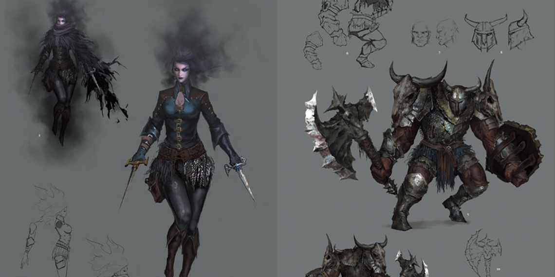 Dark Souls II Design Works Art Book M01