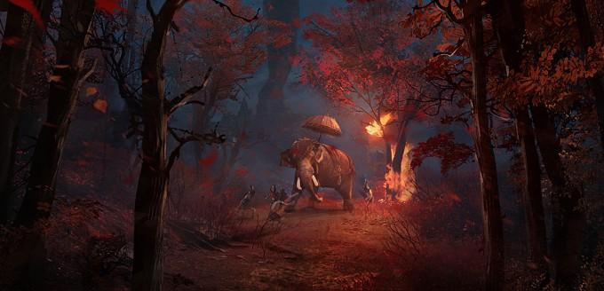 Far_Cry_4_Concept_Art_Kay_Huang_elephant_04