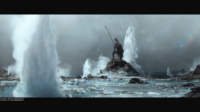 Sebastian-Gromann_Concept-Art_env-big-five-path-of-knighthood-v1