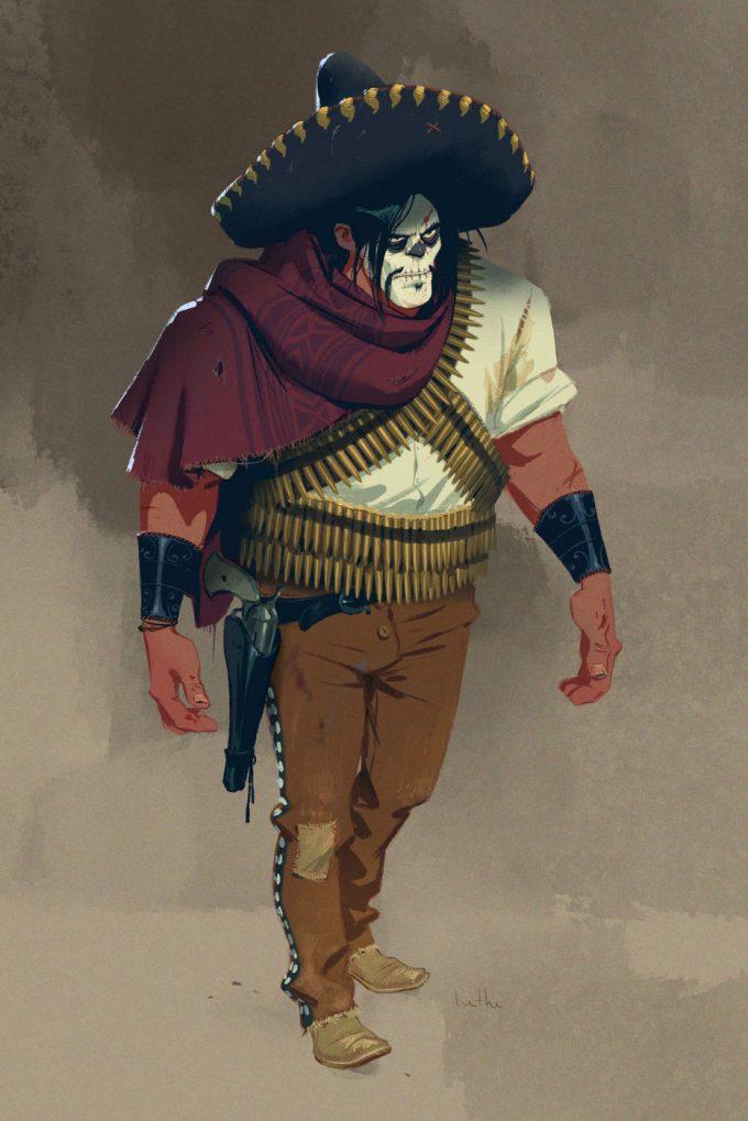 Hethe Srodawa Concept Art Western Character Design