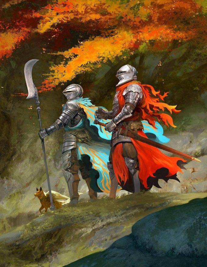 Kekai Kotaki Illustration Knight Quest
