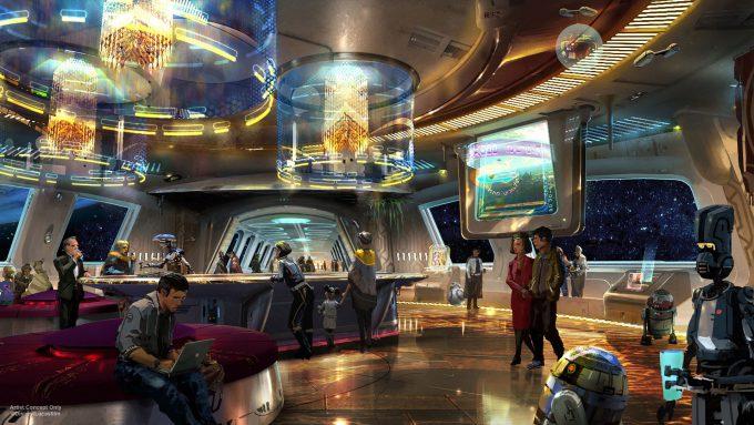 Star Wars Disney Theme Park D23 2017 Resort 1