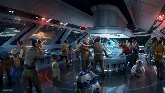 Star Wars Disney Theme Park D23 2017 Resort 2
