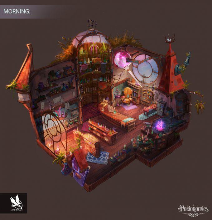 Voracious Games_Potionomics_Potion Shop_Morning