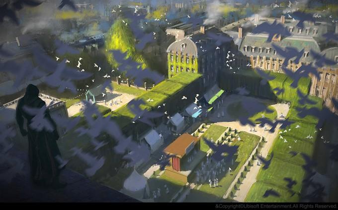 Gilles_Beloeil_Concept_Art_Assassins_Creed_Unity_le-marais-mood-gbeloeil