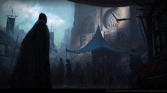 Gilles_Beloeil_Concept_Art_Assassins_Creed_Unity_market-in-front-of-notre-dame-gbeloeil