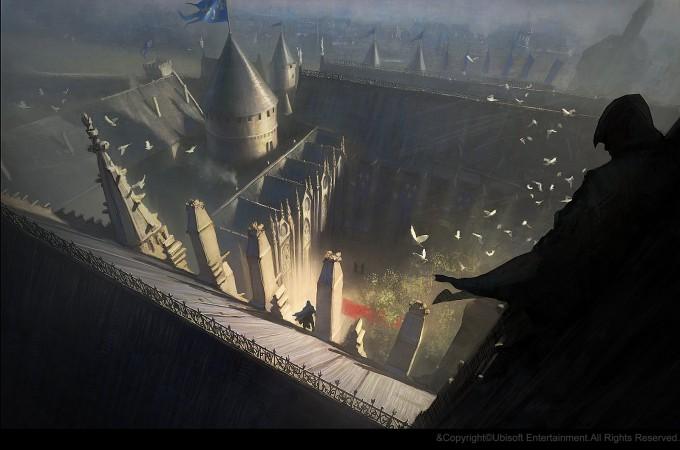 Gilles_Beloeil_Concept_Art_Assassins_Creed_Unity_medieval-palais-de-la-cite