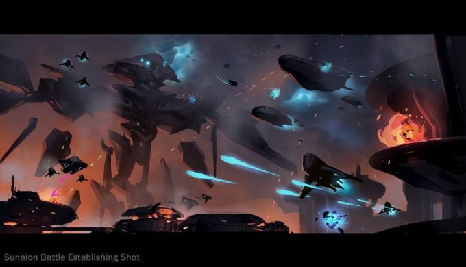 Halo_5_Guardians_Concept_Art_Sunaion_Battle_Establishing_shot_APPROVED_revis