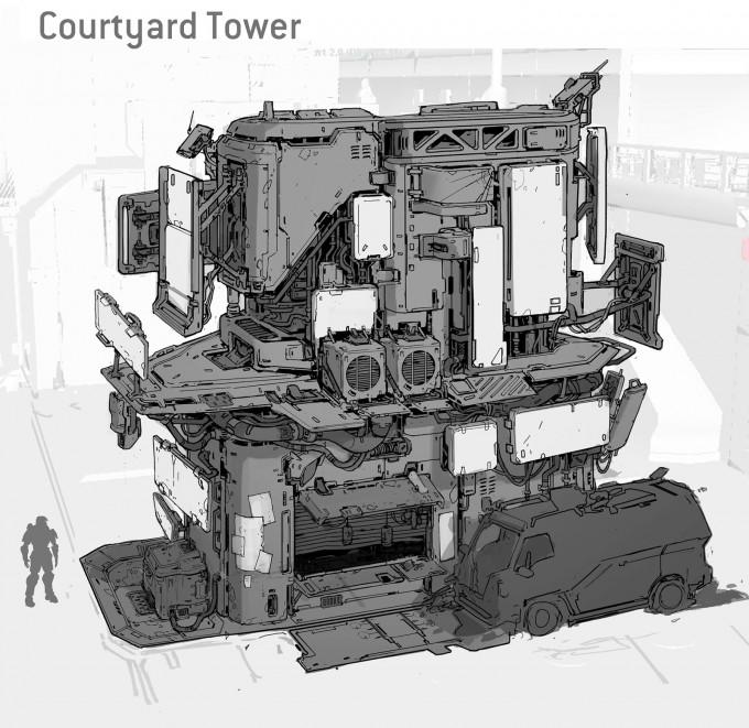Halo_5_Guardians_Concept_Art_courtyard_tower_final