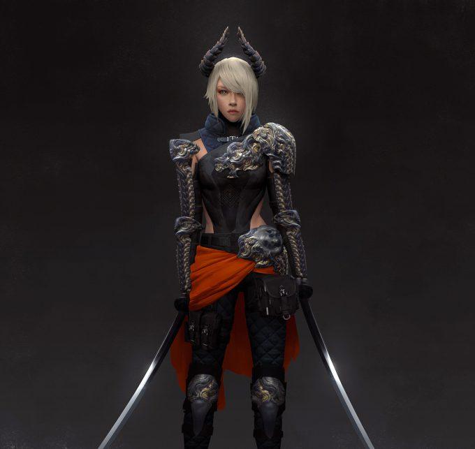 brandon liao concept art illustration sworddragon3