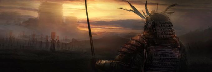 Samurai_Concept_Art_Illustration_01_Alex Figini-Speed_Paint